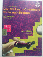 1992 GAA All-Ireland Football S-Final CLARE v DUBLIN Programme