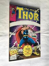 THE MIGHTY THOR STORIE DI ASGARD PLAY BOOK nr 6 MARVEL PLAY PRESS OTTIMO STATO