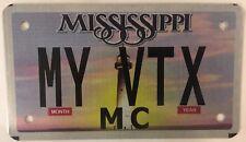 MOTORCYCLE vanity MY HONDA VTX license plate 1800 1300 Biking Biker Cruiser F3