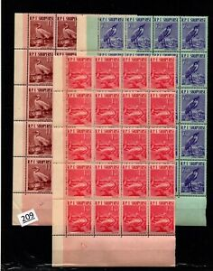 /// 20X ALBANIA - MNH - BIRDS - WHOLESALE