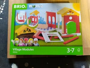 BRIO WORLD Village Modules Expansion Pack Set 33942 NEW In Box!!!
