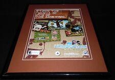 Little Big Planet 2007 PS2 Framed 11x14 ORIGINAL Vintage Advertisement