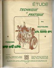 REVUE TECHNIQUE AUTOMOBILE 108 RTA 1955 MOTEURS PERKINS P3 P4 P6