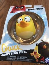 The Angry Birds Movie Vinyl Ball Figure Chuck Yellow Bird Spin Master Toys