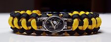 Pittsburgh Penguins Handmade Paracord Bracelet #3 or Lanyard or Deluxe Key Chain