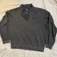 Ping  Men's 1/4 Zip Fleece Golf Pullover Gray Size Medium Excellent Condition