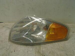 00 01 02 Mazda 626 Left Side Corner Turn Light Fender Mounted
