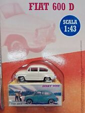 FIAT 600 D  (#520) - DINKY TOYS - replica - 1:43  MOC