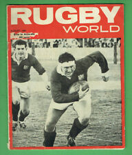 #Kk. Rugby World Union Program - August 1966, British Lions Cover