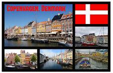 COPENHAGEN, DENMARK - SOUVENIR NOVELTY FRIDGE MAGNET - GIFTS / FLAGS / XMAS  NEW