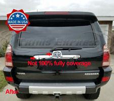 2003-2009 Toyota 4Runner 4 Runner Trunk Rear Door Trim Sticker Accent 2Pc