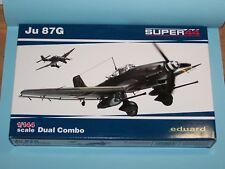 1/144 - Junkers Ju-87G - Eduard Super 44 - 2 kit in a box
