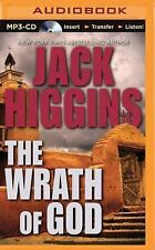 The Wrath of God by Jack Higgins (2015, MP3 CD, Unabridged)