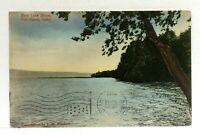C. 1911 Fish Haven Idaho Bear Lake Shore Vintage Postcard