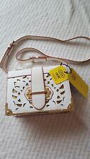 BNWT USEN Faux leather white crossbody bag (designer bag look)