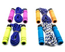 Soft Handle Skipping Speed Rope Fitness Exercise  Boxing Jumping Gym 3 Color Lot