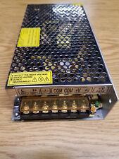 Power Supply 12 VDC 10 amp  new  cased power supply
