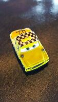 DISNEY PIXAR CARS DIE CAST MINI RACERS FAREGAME TAXI CAB LOOSE FREE SHIP $15+