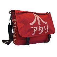 Official Red Japanese Logo Atari Messenger Shoulder Bag - Retro Game Laptop
