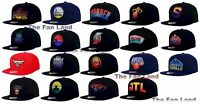 New NBA Mitchell and Ness Mens Gradient Lines Snapback Cap Hat