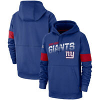 New York Giants Football Hoodie Sweatshirt 100th Anniversary Pullover Jacket