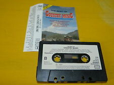 COUNTRY MUSIC - K7 audio / Audio tape !!! THE BEST OF !!!
