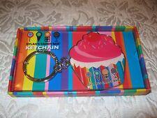 NWT ~ Dylan's Candy Bar CUPCAKE KEYCHAIN