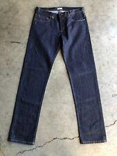 Madras by A.P.C. x Jessica Ogden Straight Denim Jeans sz 32 Blue
