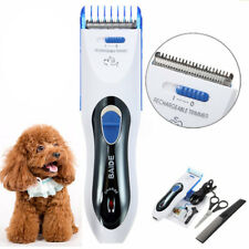 Pet Dog Cat Electric Hair Cutting Trimmer Shaver Razor Grooming Clipper EU Plug