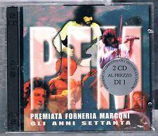PREMIATA FORNERIA MARCONI P.F.M. GLI ANNI SETTANTA  PFM - 2 CD SIGILLATO!!!