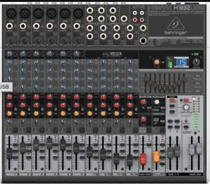Premium 18-Input 3/2-Bus Mixer with XENYX Mic Preamps and Compressors