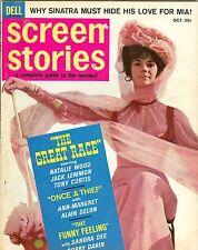Natalie Wood cover SCREEN STORIES magazine 1963 DELL ann margret frank sinatra