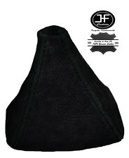 BLACK STITCH REAL SUEDE GEAR GAITER SHIFT BOOT FITS HONDA S2000 1999-2009