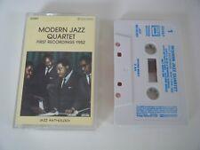 THE MODERN JAZZ QUARTET FIRST RECORDINGS 1952 CASSETTE TAPE JAZZ ANTHOLOGY