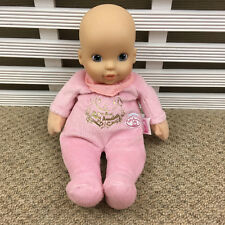 """My First Baby Annabel Soft Toy Doll Rattle 12"""" by Zapf Creation"""