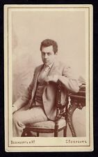 CDV Photo Russian Artist, Actor Theater DALSKY MAMONT (2549)