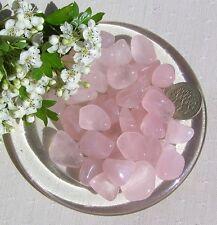 12 Stunning Rose Quartz Crystal Tumblestones