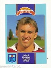 1993 FIELDERS RUGBY LEAGUE CARD - WAYNE MARSHALL, EASTERN SUBURBS ROOSTERS