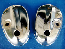 "HONDA C50 C65 C70 C90 FRONT FORK LOWER COVER ""CHROME""  (bi)"
