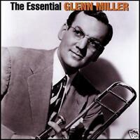 GLENN MILLER (2 CD) THE ESSENTIAL ~ BIG BAND / SWING GREATEST HITS / BEST *NEW*