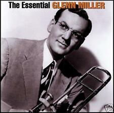 GLENN MILLER (2 CD) THE ESSENTIAL ~ BIG BAND / SWING GREATEST HITS / BEST *NEW*