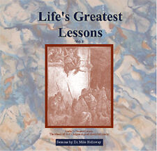 Life's Greatest Lessons Volume 1 Preaching CD's  Dr. Holloway