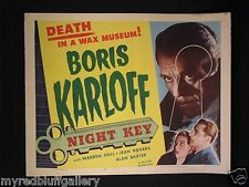 Night Key 1937 Boris Karloff 1954 Realart Re-Release HS