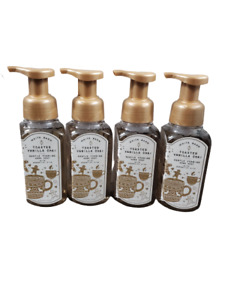 Bath & Body Works Toasted Vanilla Chai Gentle Foaming Foam Hand Soap, (Set of 4)