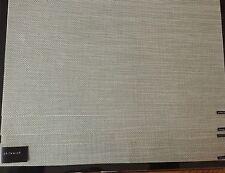 CHILEWICH Placemats Set of 4 Mini Basket Weave Aloe Brand New 14 x 19 USA