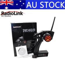 RadioLink RC4GS 2.4G 4CH Car Controller Transmitter +R6FG-G Gyro Inside Receiver