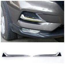 for Nissan Rogue Sport Qashqai 2020 Front Fog Light Lamp Trim Eyelid Strip