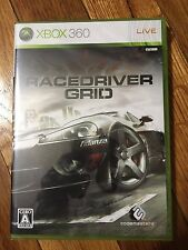 RACE DRIVER GRID XBOX 360- Japan Import BRAND NEW