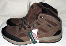 NEW *COLEMAN*  Waterproof, Brown/Black, Canvas/Suede Leather, Lace Up Boots, 12M
