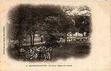 CPA   Maisons-Laffitte - La Camp -Repas sur l'herbe     (359372)